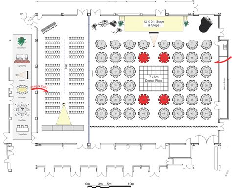 floor plan event event layout design software cadplanners event layouts