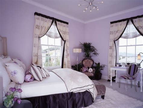 40 Amazing Modern Bedroom Wall Color For Awesome Bedroom | purple bedroom ideas for teenage girls purple bedroom