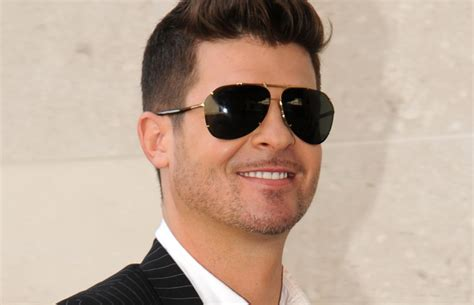 Robin Hecke by Robin Thicke Will I Am Isn T Easy To Get Along With