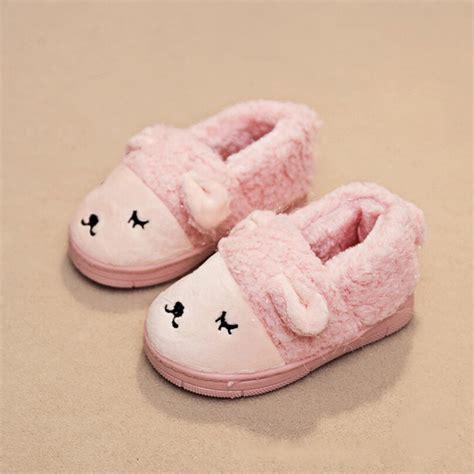toddler house slippers girl kids slippers boys girls slippers cute cartoon children slippers boys warm cotton slippers