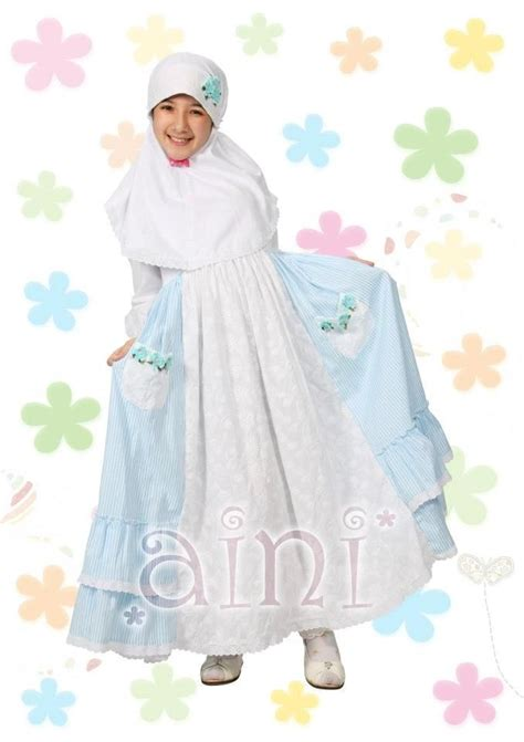 Set Gamis Dress Busana Muslim Anak Aini 140903 41 best images about busana muslim anak on