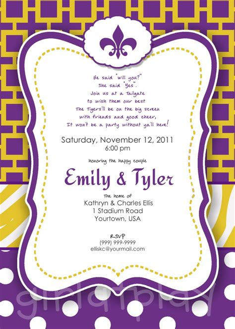 Come With Me Tailgate Ae Invites by 73 Best Images About Tailgate Shower On