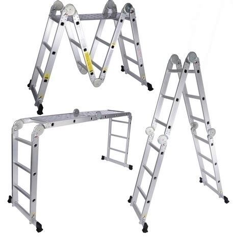 Multi Purpose Ladder ttmlps aluminium multi purpose ladder