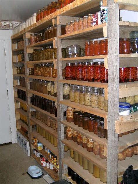Survival Pantry by Pantry Photos Homesteading Today Outdoors Prepper