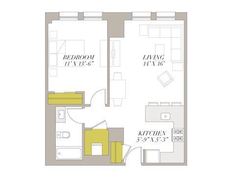 chicago apartment floor plans one bedroom apartments chicago marceladick com