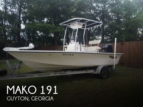 used mako boats for sale in georgia for sale used 2006 mako 191 in guyon georgia boats for