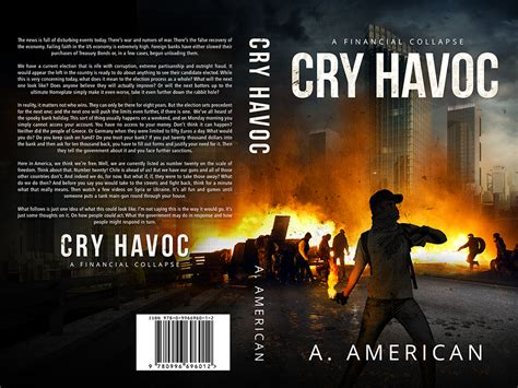 cry havoc frey books design book cover cry havoc a financial collapse