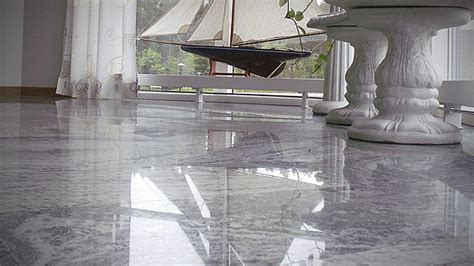 Marble floor   Grinding and polishing