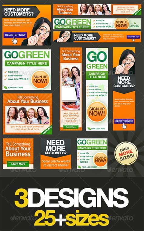 ad banner templates articles for 21 04 2013 187 page 2 187 graphic lands