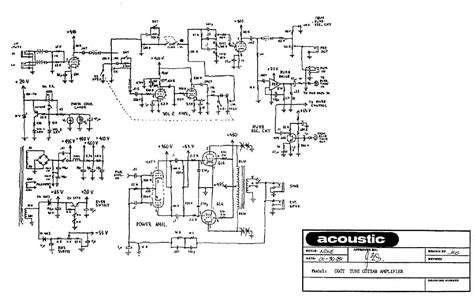 Power Lifier Acoustic single ended 6l6 schematic single free engine image for