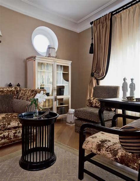 traditional home decor style  large apartment