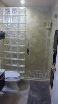 glass block showers small bathrooms best 25 glass block shower ideas on glass