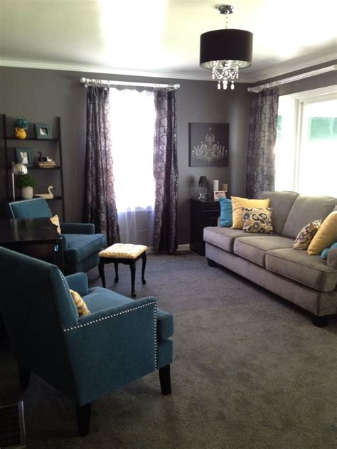 teal yellow gray living room grey yellow teal living room modern house