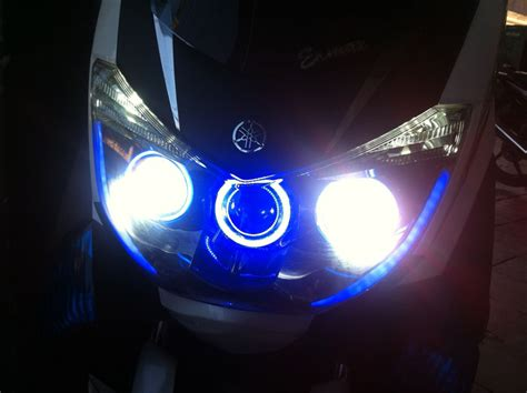 Lu Led Motor Nmax modifikasi yamaha nmax update garasi modifikasi