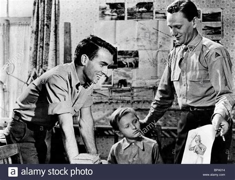 Montgomery Search Montgomery Clift Ivan Jandl Wendell Corey The Search 1948 Stock Photo Royalty Free