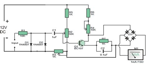 car tachometer circuit diagram circuit and schematics