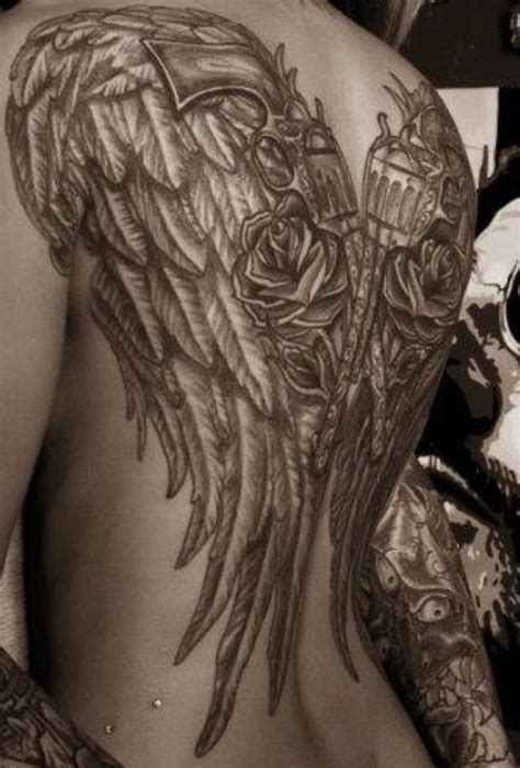 Collection Of 25 Angel Wings Tattoo Wing Tattoos Images