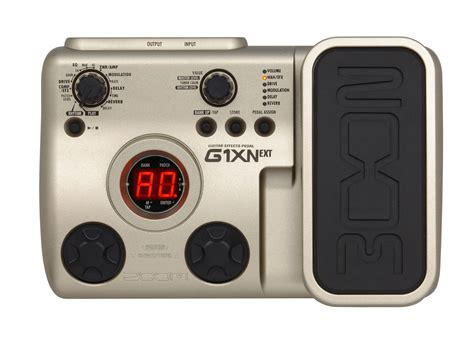 zoom no layout g1xn guitar effects pedal zoom