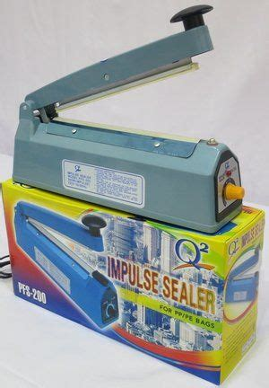 Impulse Sealer Perekat Plastik impulse sealer perekat plastik segel plastik uk 20cm