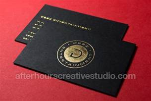 Blind Embossed Stationery Duplexed 700gsm Colorplan Business Cards Foil Blocking