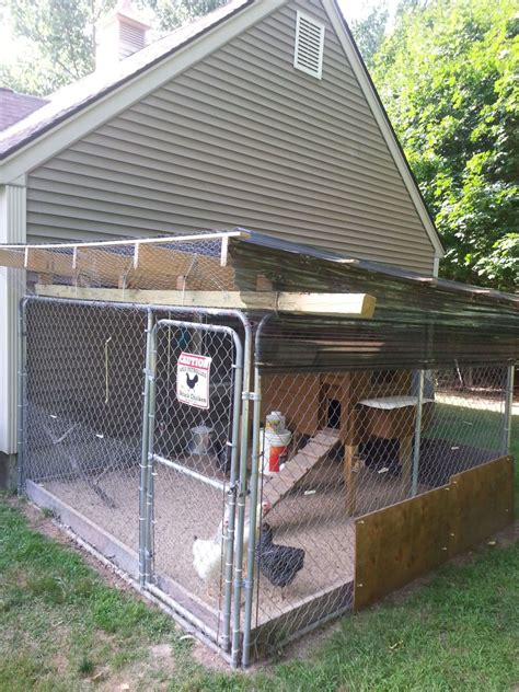 kennel roof ideas for kennel pen roof to keep out needed