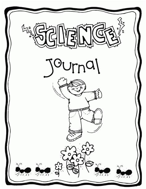 printable science journal kindergarten journal covers mrs richardson s class