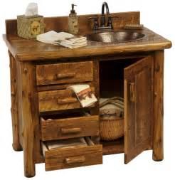 sawmill c rustic vanity