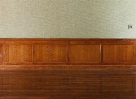 Cherry Wainscoting Panels by Custom Recessed Panel Wainscoting By Fanatic Finish