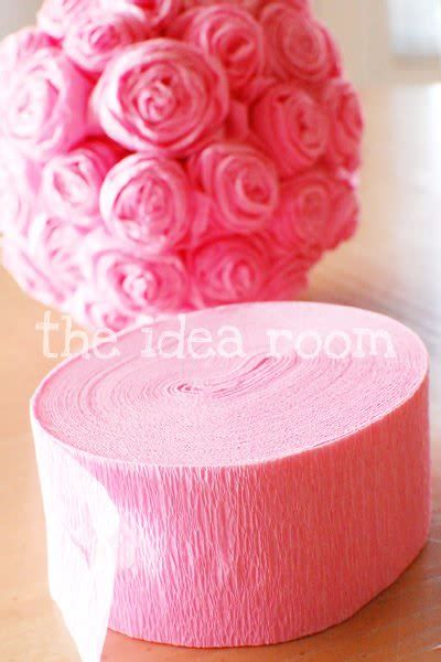 Paper Roses Out Of Tissue Paper - how to make 20 different paper flowers the crafty