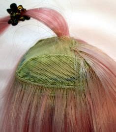 tutorial wig making 1000 images about dolls on pinterest monster high