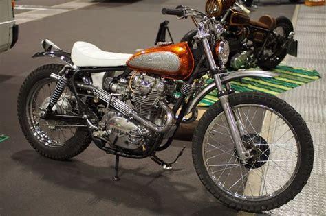 custom yamaha xs  scrambler yamaha dt  gas tank