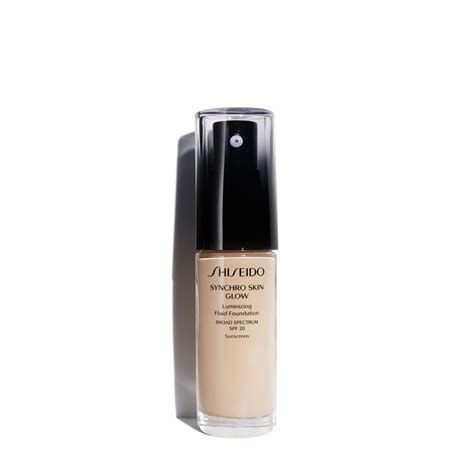 Shiseido Synchro Skin Foundation synchro skin glow luminizing fluid foundation spf 20