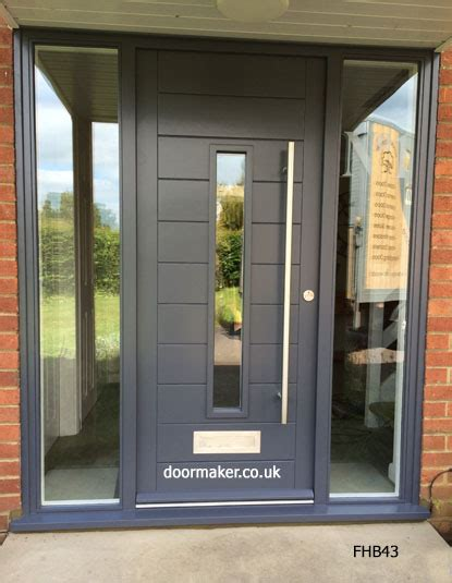 Contemporary Front Doors Oak Iroko And Other Woods Exterior Door Uk