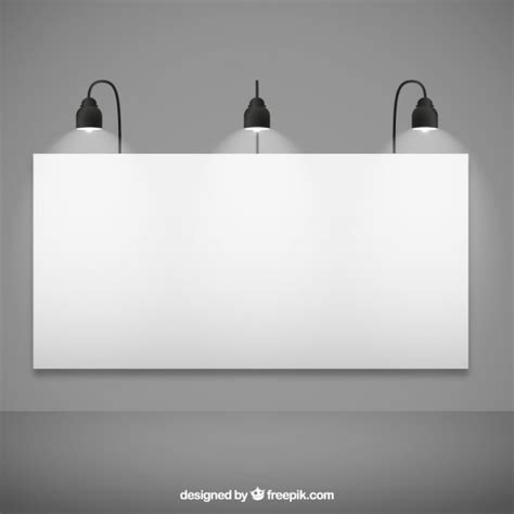 blank billboard mockup vector free download