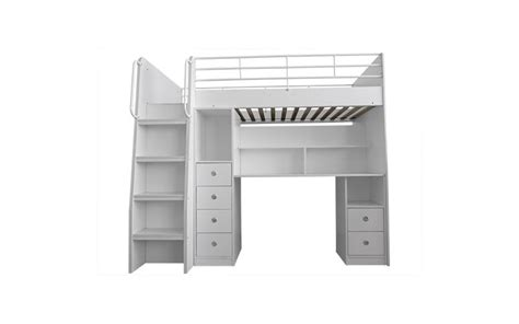 stair loft bed with desk neptune loft bed with stair drawer and desk