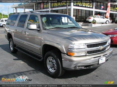 2001 chevrolet suburban 2500 2001 chevrolet suburban 2500 lt light pewter metallic