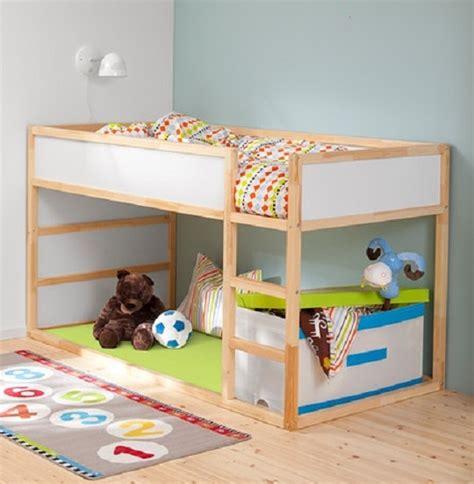lit haut pour enfant avec 233 chelle r 233 versible kura par ikea