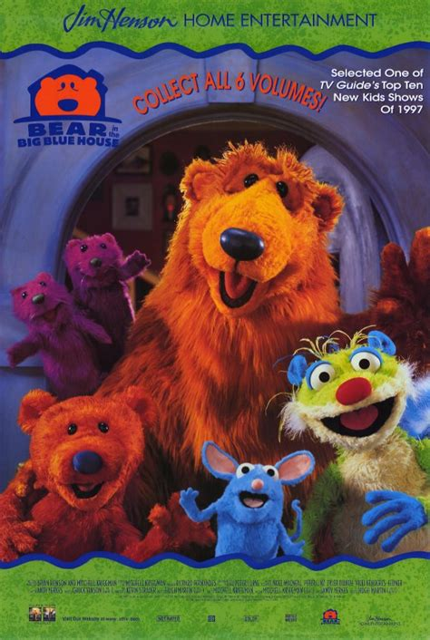 bear big blue house bear in the big blue house movie posters from movie poster shop