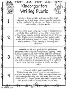 Report Writing Exercises by 1000 Ideas About Kindergarten Rubrics On Rubrics Kindergarten Writing Rubric And