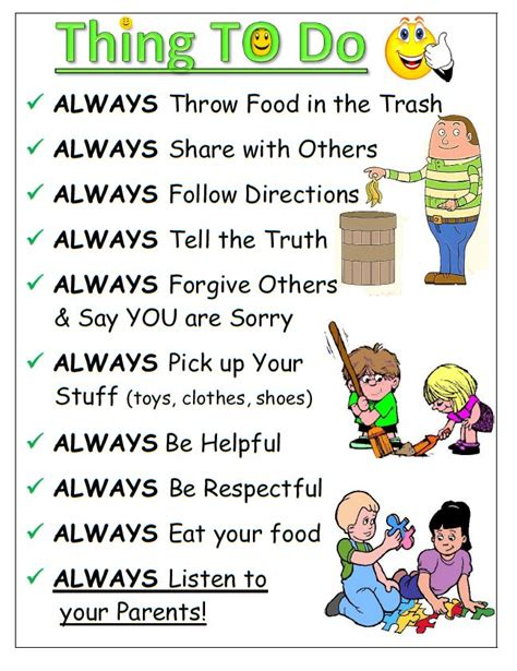 house rules for kids 22 best images about keeping kids organized motivated on pinterest trips visual