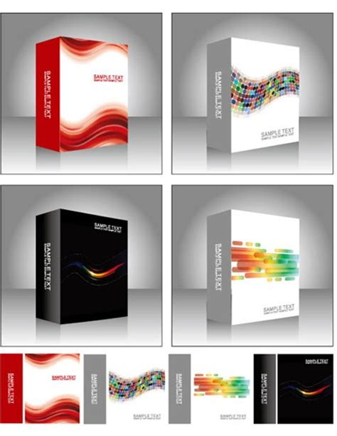 vector software free vector software product packing templates free