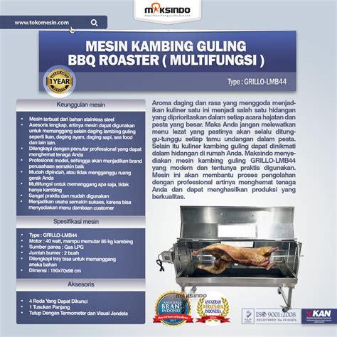 Termometer Grill Untuk Bbq mesin kambing guling bbq roaster grillo lmb44 toko