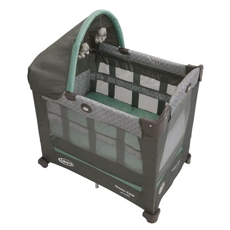 Playard Crib by Graco Travel Lite Crib With Stages Manor Baby