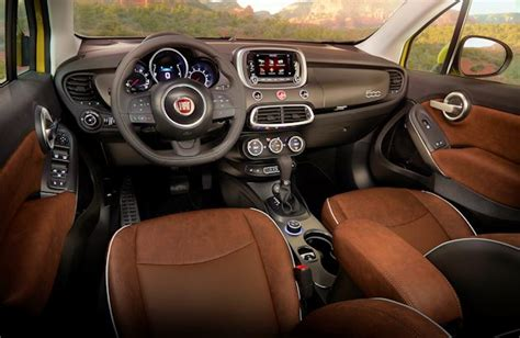 Fiat 500x Interior by 2016 Fiat 500x Test Drive Our Auto Expert