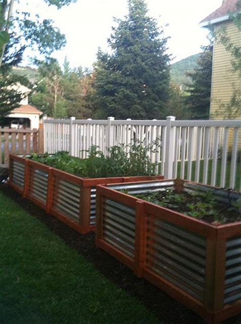 galvanized steel garden beds 30 creative diy raised garden bed ideas and projects