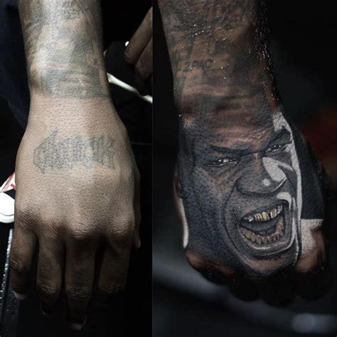 nikko hurtado tattoos mike tyson s portrait on the game