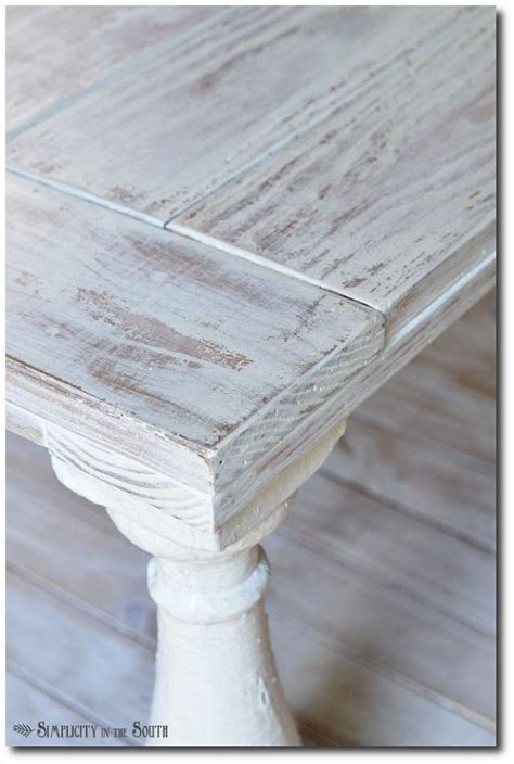White Wash Table And Chairs by 34 Ideas For Chippy Distressed Painted Furniture