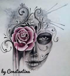 1000 ideas about sugar skull tattoos on pinterest skull