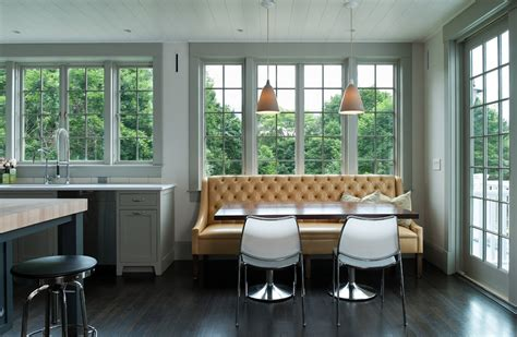 banquette seating for sale dining room tropical with