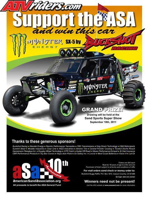 custom buckshot buckshot racing custom buggy giveaway announcement